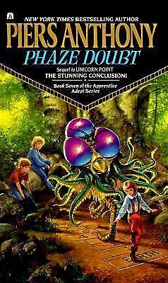 Phaze Doubt by Piers Anthony (Apprentice Adept, 1991 Paperback)