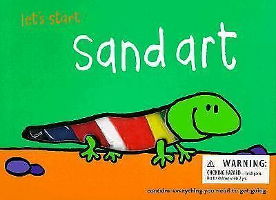 Sand Art with Other Let's Start Books)