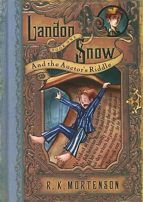 Landon Snow and the Auctor's Riddle Landon Snow, Book 1