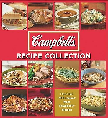 Campbell's Recipe Collection 5 Ring Binder Cookbook