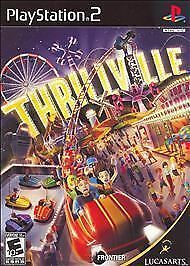 THRILLVILLE - Ps2 Playstation 2, TESTED & COMPLETE