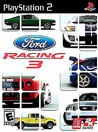 FORD RACING 3 - Ps2 Playstation 2, TESTED, COMPLETE, MINT!