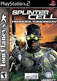 SPLINTER CELL, PANDORA TOMORROW - Ps2 Playstation 2, TESTED & COMPLETE