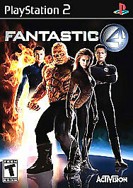 FANTASTIC FOUR - Ps2 Playstation 2, TESTED & COMPLETE