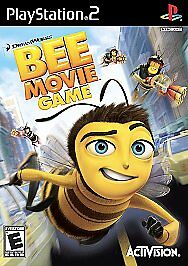 BEE MOVIE GAME BY DREAMWORKS - Ps2 Playstation 2, TESTED (no cover art)