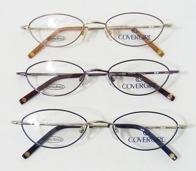 Cover Girl Eyewear CG334 Full Rim Metal Frame 4 CLRS Youth Retails@$90 47-18-130