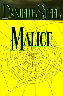 Malice by Danielle Steel (1996, Hardcover)
