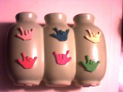 Three Hole Vase I Love You Handsign Decorations ILY