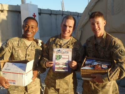 "SPONSOR THE ""COMPANY COMMANDER"" CARE PACKAGE OPERATION GRATITUDE"