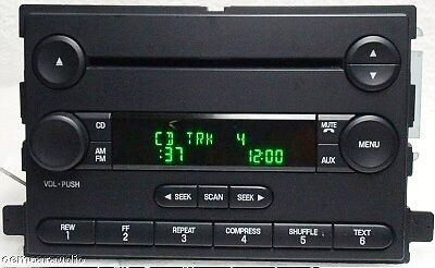 04 05 06 07 08 09 10 Ford IN DASH AM/FM STEREO Radio Cd part # 5F9T-18C869-AK