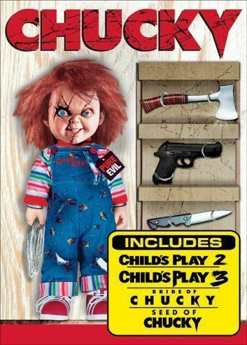 Chucky: The Killer DVD Collection by Alex Vincent, Justin Whalin, Jennifer Till
