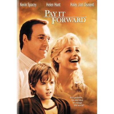 Pay It Forward DVD *Disc Only* Haley Joel Osment, Kevin Spacey, Charity Auction!