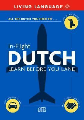 In-Flight Dutch: Learn Before You Land (English and Dutch Edition) by