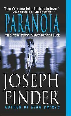 Paranoia by Joseph Finder (2004, Paperback)