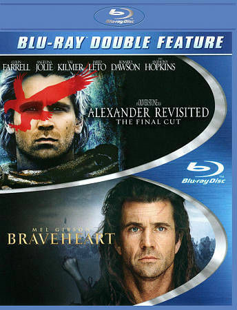 BRAVEHEART/ALEXANDER REVISITED BLU RAY NEW SEALED OPERATION GRATITUDE