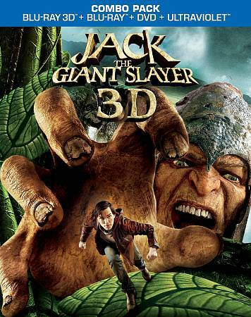 JACK THE GIANT SLAYER 3D  BLU RAY NEW SEALED OPERATION GRATITUDE