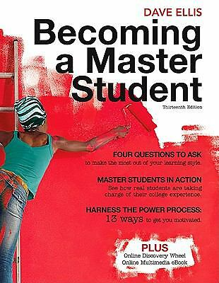 Becoming a Master Student by Dave Ellis (2010, Paperback)