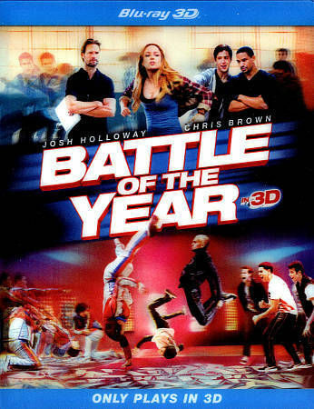 BATTLE OF THE YEAR 3D BLU RAY NEW SEALED OPERATION GRATITUDE