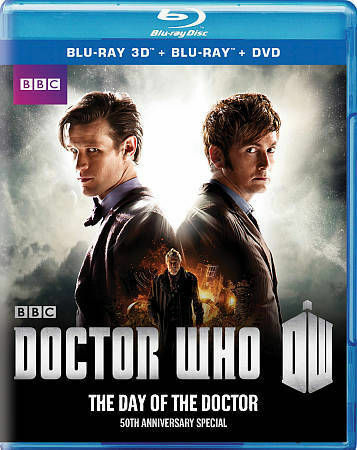 DOCTOR WHO DAY OF THE DOCTOR BLU RAY NEW SEALED OPERATION GRATITUDE