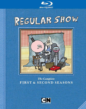 REGULAR SHOW FIRST AND SECOND SEASON BLU RAY NEW SEALED OPERATION GRATITUDE