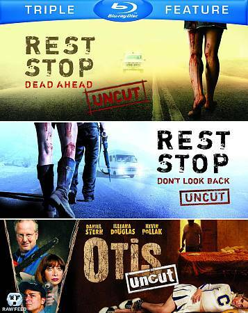 REST STOP DEAD AHEAD/DON'TLOOK BACK/OTIS BLU RAY NEW SEALED OPERATION GRATITUDE