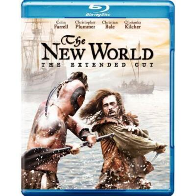 THE NEW WORLD EXTENDED CUT BLU RAY NEW SEALED OPERATION GRATITUDE
