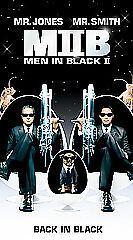 Men in Black II (VHS, 2002)