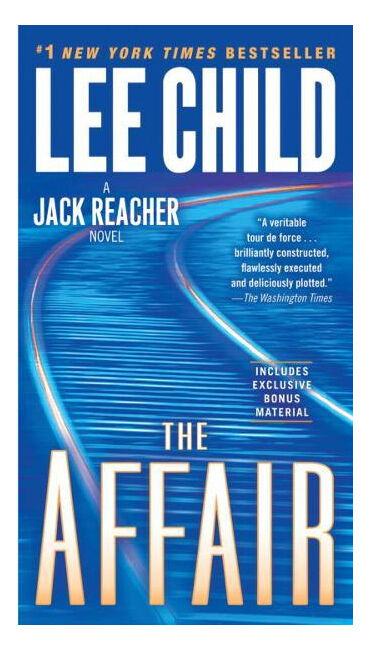 The Affair No. 16 by Lee Child (2011, Hardcover)