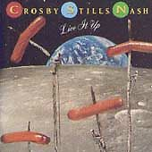 Live It Up by Crosby, Stills & Nash (CD, Jun-1990, Atlantic (Label))