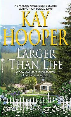 Larger than Life by Kay Hooper (2009, Paperback)