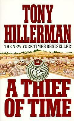 A Thief of Time by Tony Hillerman (1990, Paperback, Reprint)