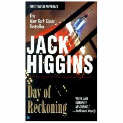 Day of Reckoning 8 by Jack Higgins (2001, Paperback)