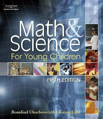Used Textbook Math & Science for Young Children 5th Edition Child Development