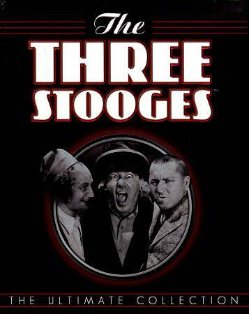 THE THREE STOOGES ULTIMATE COLLECTION DVD NEW SEALED OPERATION GRATITUDE