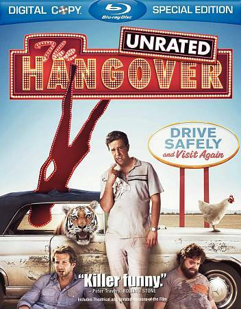 HANGOVER UNRATED BLU RAY NEW SEALED OPERATION GRATITUDE