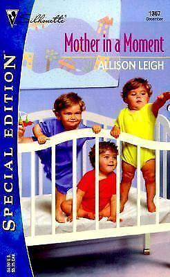 Mother in a Moment No. 1367 by Alison Leigh (2000, Paperback)
