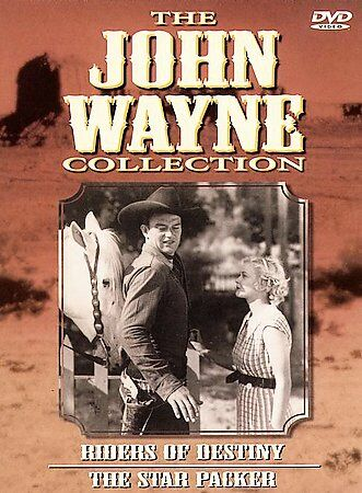 John Wayne Collection - Vol. 2: Riders of Destiny/The Star Packer (DVD, 1998,...