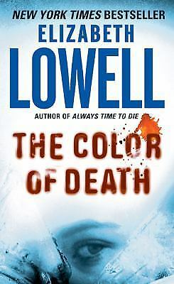 The Color of Death by Elizabeth Lowell (2005, Paperback)