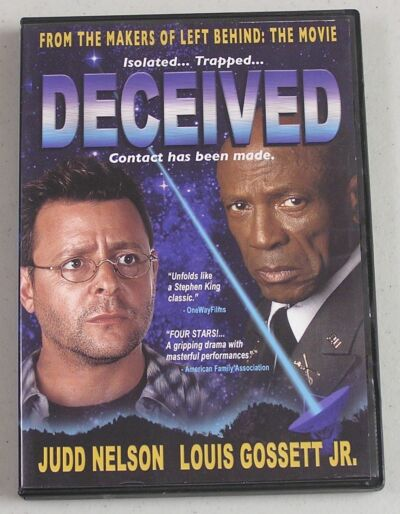 Deceived (DVD, 2004) Judd Nelson, Louis Gossett JR