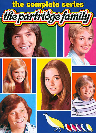 THE PARTRIDGE FAMILY COMPLETE SERIES DVD NEW SEALED OPERATION GRATITUDE