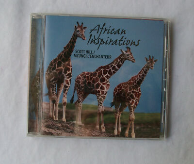 CD African Inspirations Scott Hill Mzungi L' Enchanteur Brand New Factory Seal