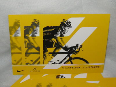 Lance Armstrong Live-strong Post Card (NEW) 1 Post Card