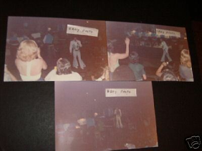 ELVIS PRESLEY CONCERT PHOTOS PHILA.,PA 1974 SET OF 6