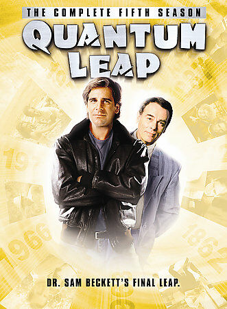 QUANTUM LEAP COMPLETE FIFTH SEASON DVD NEW SEALED OPERATION GRATITUDE
