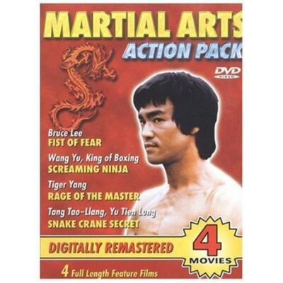 Martial Arts Action Pack (DVD, 2003)