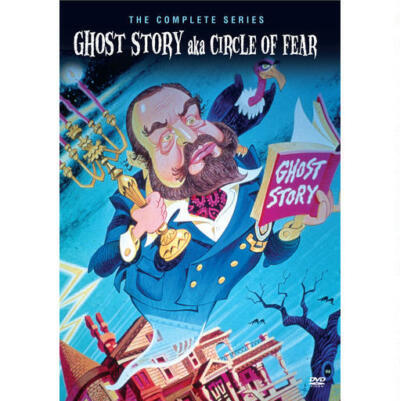 GHOST STORY CIRCLE OF FEAR COMPLETE SERIES DVD NEW SEALED OPERATION GRATITUDE