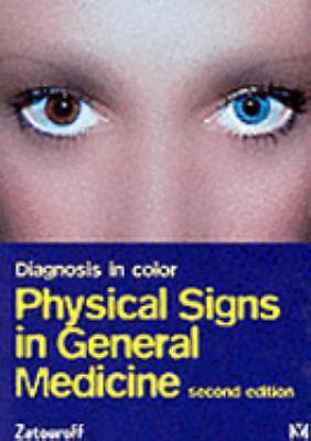 Diagnosis in Color: Physical Signs in General Medicine by Zatouroff FRCP(Lond),