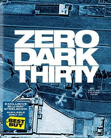 ZERO DARK THIRTY BLU RAY NEW SEALED OPERATION GRATITUDE