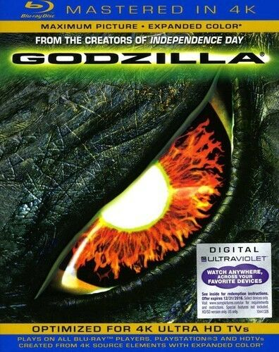 GODZILLA MASTERED IN 4K BLU RAY NEW SEALED OPERATION GRATITUDE