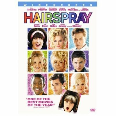 Hairspray (DVD, 2007, Widescreen) John Travolta, Michelle Pfeiffer,